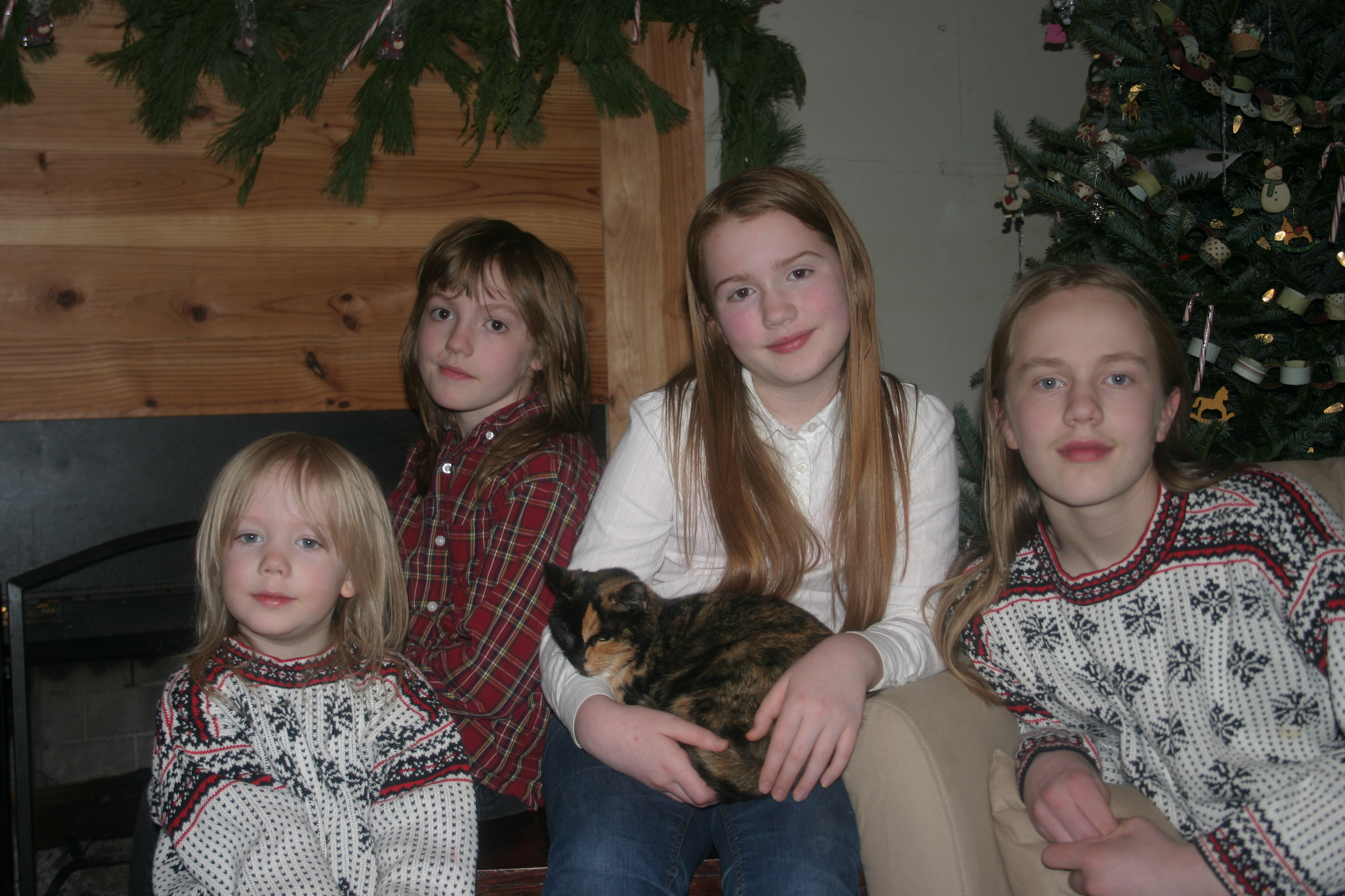 Christmas Picture of my children