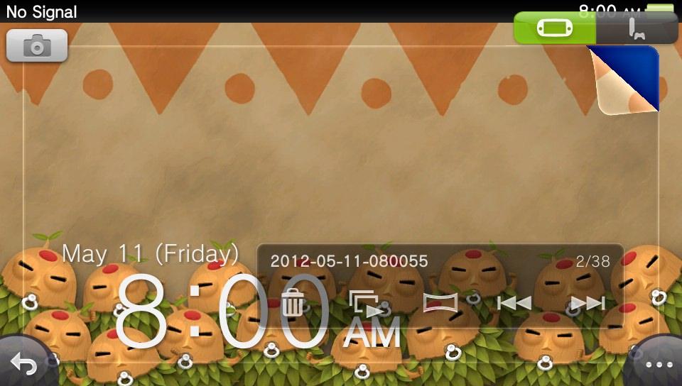 Originally screenshot taken May 11, 2012 PixelJunk Monsters on my PS Vita screensaver