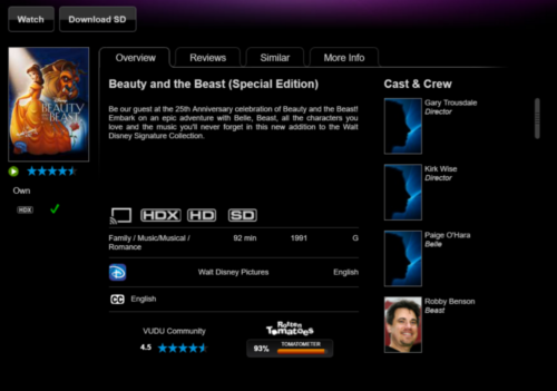 beauty and the beast special edition www.vudu.com-2016-09-06-14-22-13